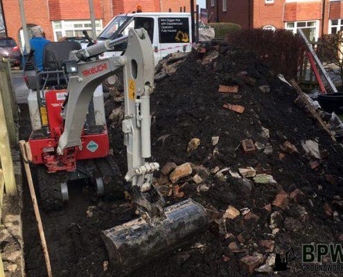Excavating Pathway